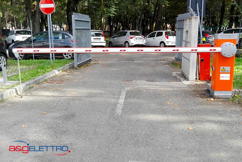 Sbarra Automatica Parcheggio Ospedale Carpi  | A&G Elettro