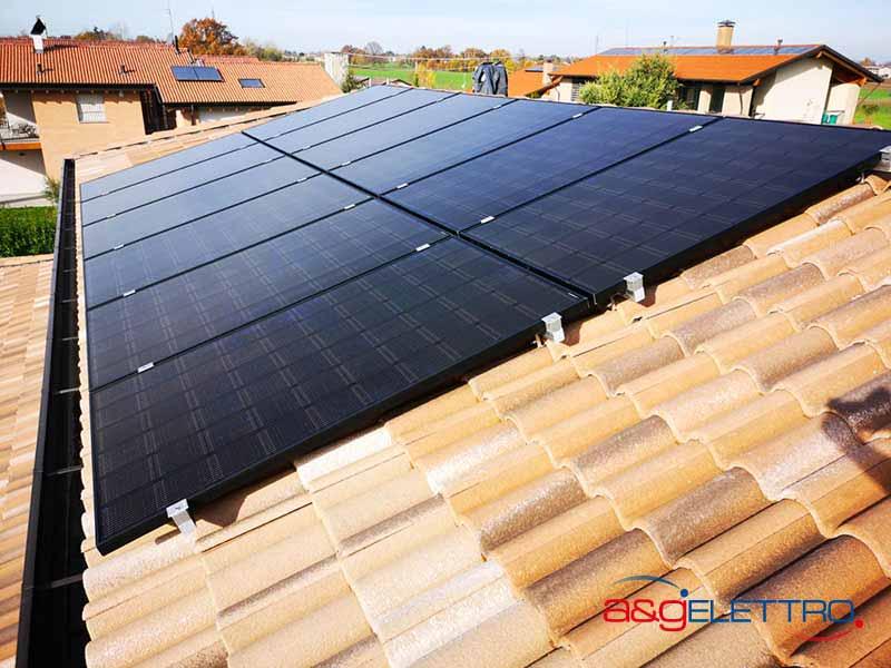 Impianto Fotovoltaico installato e collegato | A&G Elettro