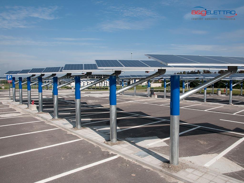 Parcheggio Fotovoltaico: Comodità e Sostenibilità   A&G ELETTRO